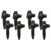 Msd 822183 Blaster Direct Ignition Coil Set For 08-09 Toyota Sequoia 4.7l New