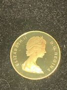 1979 Proof Canada Year Of Child 1/2 Oz Gold Coin 100 Wow Type Deep Cameo