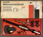 Snap-on Tools Interchangeable Rear Axle Puller Set Cj2003a W/ Extras