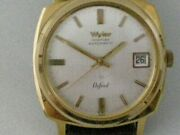 Wyler Incaflex Oxford Vintage Stock Menand039s Watch 1960and039s Automotic