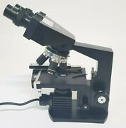 Columbia Fm600 Unique Us Army/navy Field Microscope Lightweight Portable.