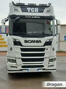 To Fit 2017+ New Gen Scania R S Series High Cab Roof Bar Black Truck Accessories