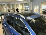 To Fit 2014+ Nissan X-trail Strengthened Abs Plastic Roof Rails Rack Bars Type B
