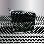 Fit For 07-12 R8 Kühlergrill Main Upper Grille Gloss Black/chrome Euro Hex Style