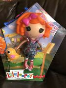 """Sunny Side Up Lalaloopsy Full Size Regular 12"""" Doll B-day October 12 Sew Magical"""