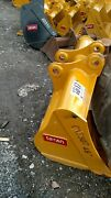 Heavy Duty Cat 307 308 48 Excavator Clean Out Grading Ditching Bucket 50mm