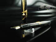 Namiki Nippon Art Crane And Turtle Fountain Pen Lacquer Fn-5m-tk