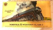 Bachman Ho Scale Limited Collector's Edition Norfolk And Western Class J600 Set Ob