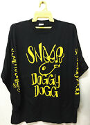 Vintage Early 90s Snoop Dogg Doggy Rap Tee Hip Hop T-shirt 2pac Wu Tang Dr Dre