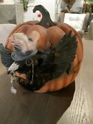 Cawing Pumpkin By Bethany Lowe