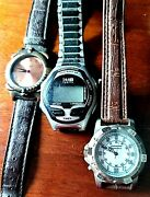 Lot Of Wrist Watches Timexsheffield And Unknown
