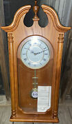 27andrdquo Tall Linden Westminster-whittington Hanging Clock