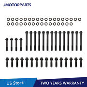 Set Cylinder Head Bolts For Chevy Sbc Engine Small Block Hex Head 350 383 400