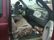2005 Ford F250sd Pickup Front Seat Bench Split 40/20/40 Cloth Manual L.