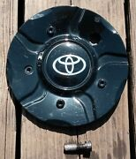 Toyota Gloss Black Center Cap W/mounting Screw Part A-101 Model Year Unknown2