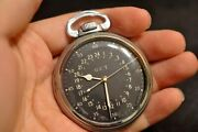 Hamilton 4992b Military Pocket Watch Manual Winding 22jewels 51mm 1940and039s