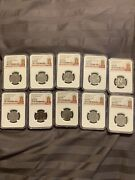 2019 Great Britain Ngc Ms63 Dpl British Coin Hunt Lot Coin Collection 10p