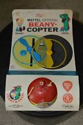 Beany And Cecil Official Beany-copter. Vintage Toy From 1961 - Sealed On Card