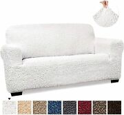 Loveseat Cover - Loveseat Slipcovers - Loveseat Couch Covers - Soft Polyester Fa