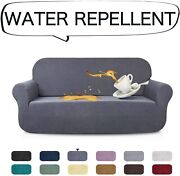 Aujoy Stretch Sofa Cover Water-repellent Couch Covers Dog Cat Pet Proof Couch Sl