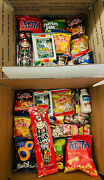 165 Piece Large Snack Box Japanese Korean Chinese Asian Treat Testers Samples