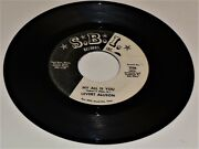Levert Allisonmy All Is Yous.b.i. Records356us Press 7 Jukebox Single