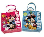 12 Pc Disney Mickey Minnie Mouse And Friends 100 Happy Party Favor Goody Gift Bag