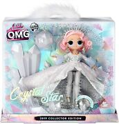 Lol Surprise Omg Winter Disco Limited Edition 2019 Crystal Star Doll - New