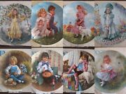Choice Reco Mother Goose Plate By John Mcclelland W/ Box And Coa Very Nice