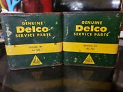 Two Vintage Sealed Genuine Delco Service Parts Containers Bushing Kits 750 Cool