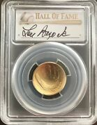 2014w Gold Lou Brock First Strike 5 Pcgs Ms70 Baseball Hof Only 2 Exist Ever