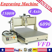 Usb 4 Axis 1.5kw/2.2kw Cnc Router 3d Engraver Engraving Drill Mill Metal Machine