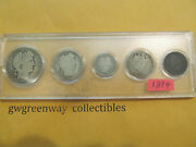 1894 Silver Birth Year Set 5 Coins Other Years Also