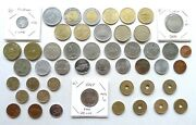 World Commemorative Lot X 49 Different Dates 1960 Onward Inc Spain Canada Italy