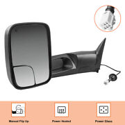 Driver Side Power Heated Tow Mirrors For 1998-2001 Dodge Ram 1500/2500/3500