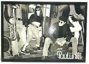 Vintage 501 Radio Very Rare Poster With Frame Sign 90s