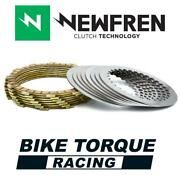 Newfren Friction And Steel Clutch Plate Kit To Fit Ktm 360 Sx 2t 95-97