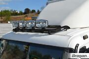 To Fit Volvo Fl Roof Spot Light Bar Black + Clamps + Leds + Spots Steel Truck