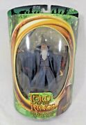 Lord Of The Rings Gandalf Fellowship Of The Rings Action Figure W/light-up Staff