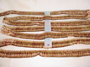 12-7/8y Decopro 0150ib Imperial Collection Burgundy Brass Fringe Upholstery Trim