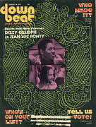 August 16, 1973 Down Beat Magazine Dizzy Gillespie And Jean-luc Ponty Cover