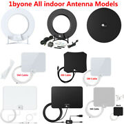 1byone Indoor Amplified Hdtv Antenna Stand 4k 1080p And Older Tvand039s Signal Booster