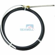 15 Ft Boat Outboard Steering Cable For Seawell Marine Steering System