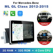 Android 10 Car Gps Navi Stereo Player For Benz Ml W166 Gl X166 Ml300 Ml350 Ml400
