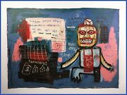 Jean-michel Basquiat Painting 1981- Nyc Street Art - Holiday Sale
