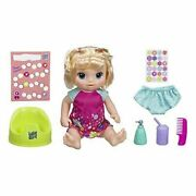 Baby Alive Potty Dance Blonde Baby Doll W/ Accessories - Over 50 Sounds And Songs