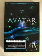 James Cameron's Avatar 3 Disc Dvd Extended Collector Edition