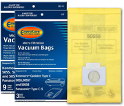 Vacuum Cleaner Bags Kenmore Canister Type C And Q 50555, 50558, 50557 12 Pack