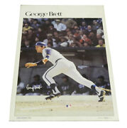1978 Sports Illustrated Poster George Brett Measures 24 X 36