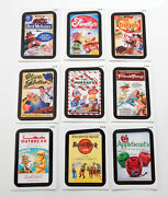 2013 Topps Wacky Packages Series 11 Rude Food Set 9 Nm/mt